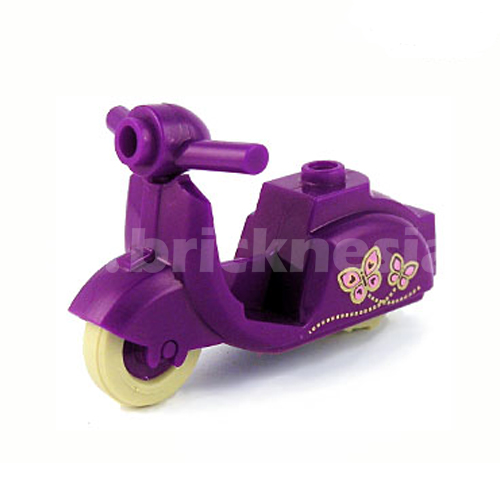 Purple Scooter - Butterfly